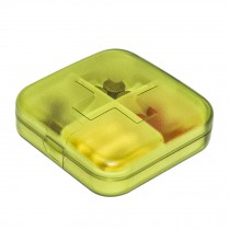 Portable 7 Day Pill Reminder Medicine Storage Pill Case Box     A