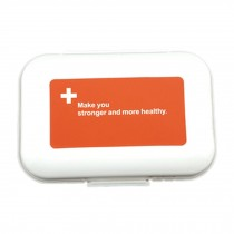 Portable 7 Day Pill Reminder Medicine Storage Pill Case Box    H