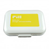 Portable 7 Day Pill Reminder Medicine Storage Pill Case Box    J