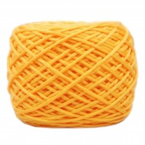 Soft Thick Quick Yarn Premium Yarn Cotton Linter Scarf Yarn, Yellow