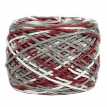 Soft Cotton Linter Yarn Thick Quick Yarn Premium Mix-colored Yarn, No.7