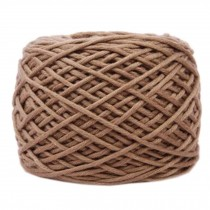 Soft Thick Quick Yarn Premium Yarn Cotton Linter Scarf Yarn, Light Brown