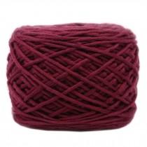Soft Thick Quick Yarn Premium Yarn Cotton Linter Scarf Yarn, Wine Red