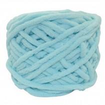 Sets Of 4 Premium Soft  Yarn Baby Blanket Yarn Scarf Yarn, Light Blue
