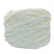 Sets Of 4 Premium Soft  Yarn Baby Blanket Yarn Scarf Yarn, Ivory White