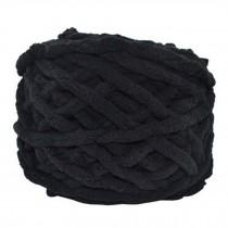 Sets Of 4 Premium Soft  Yarn Baby Blanket Yarn Scarf Yarn, Black