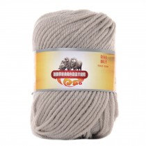 Luxury 100% Soft Lambswool Yarn Thick Quick Yarn Premium Soft Yarn, Beige