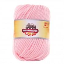 Luxury 100% Soft Lambswool Yarn Thick Quick Yarn Premium Soft Yarn, Shallow Red
