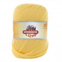 Luxury 100% Soft Lambswool Yarn Thick Quick Yarn Premium Soft Yarn, Yellow Chick