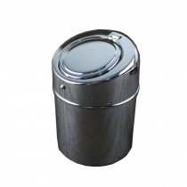 Stainless Steel Ashtray Convenient Small Cigarette Ashtray