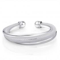 Eye-Catching Classic Silver Plated Bracelet Bangle Charm Bracelets