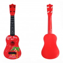 Kid's Fancy Dynamic Music Guitar Toy Red