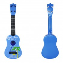 Kid's Fancy Dynamic Music Guitar Toy Sky Blue