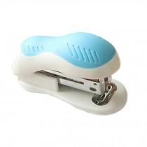 Mini Desktop Stapler Manual Stapler Office/Home Stapler,White/Blue