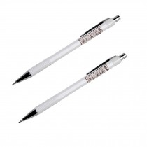 Simple Design 0.5mm Mechanical Pencil, Drafting Pencil, Offwhite, 2 Pack