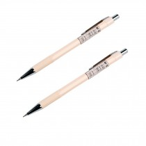 Simple Design 0.5mm Mechanical Pencil, Drafting Pencil, Nude, 2 Pack