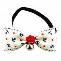 Adjustable Grooming Accessories Dog/Cat Bow Ties Collar Necklace, B