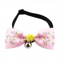 Adjustable Pet Collars Dog/Cat Bow Ties Dog Leash Puppy Collars, K
