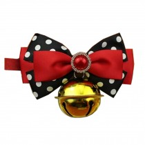 Adjustable Pet Collars Puppy Collars Dog Leash Dog/Cat Bow Ties, M