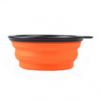 Easy To CarryOutdoor Dog Bowls  Lightweight Pet Supplies for Dogs Collapsible