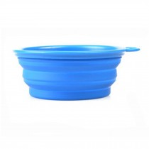 Food Grade Silicon Bowls for Outdoors/Travel Dog Bowl /Easy To Carry Outdoor