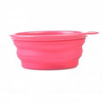 Food Grade Silicon Bowls For Outdoors Pet Supplies for Dogs  Collapsible Bowls