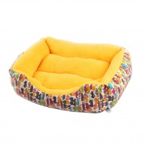 Soft Warm Indoor Quiet Time Pet Bed/sofa,NO.2,yellow