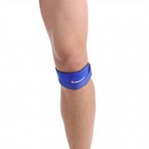Set of 2 Sports Adjustable KneePads Knee Protector Quakeproof  Blue