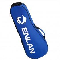 Large Capacity Sling Bag Racquet Bag Waterproof Badminton Racket Cover, Blue