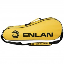 Large Capacity Sling Bag Racquet Bag Waterproof Badminton Racket Cover, Yellow