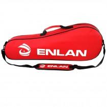 Large Capacity Sling Bag Racquet Bag Waterproof Badminton Racket Cover, Red