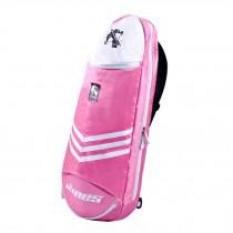 Waterproof Badminton Racket Cover Racquet Bag Sling Bag Backpack Sports - Pink