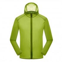 Windproof Super Lightweight UV Protector JacketsQuick Dry Skin Coat,Dark Green
