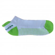 Women's Non Slip Yoga Socks Cotton  Yoga Pure Socks, Green