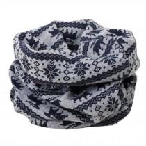 Kids Warm Cute Infinity Scarf Loop Scarfs Fashion Neck Scarves, Grey