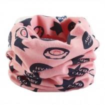 Kids Toddler Comfortable Infinity Loop Scarf Scarves Neck Warmer, Pink