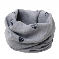 Comfortable Loop Scarf Round Scarfs Circle Scarves Neck Warmer for Kids, D