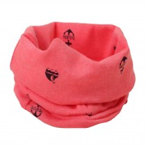 Comfortable Loop Scarf Round Scarfs Circle Scarves Neck Warmer for Kids, F