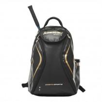 Waterproof Tennis Badminton Racket Cover Racquet Bag Sports Backpack - Black