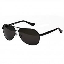 Classic Aviator Style Sunglasses Metal Frame Colored Lens UV Protection,Black