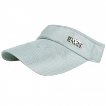 Sports Visor Cap Hats Caps Outdoor Sports Visors for Men & Women, Light Grey