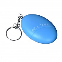 Emergency Self-Defence Electronic Personal Security Keychain Alarm - Light Blue