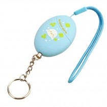 Cute Emergency Self-Defence Electronic Personal Security Keychain Alarm - Blue