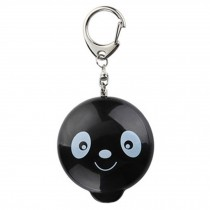 Womens/Kids Emergency Self-Defence Personal Security Keychain Alarm, Black Panda