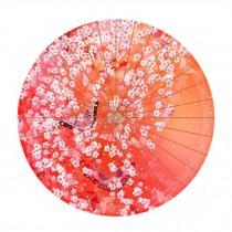 Beautiful Chinese Style Handmade Paper Umbrella Anti-rain 33-Inch Parasol, No.1