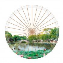 Elegant Chinese Style Handmade Anti-rain Paper Umbrella 33-Inch Parasol, No.1