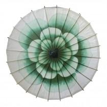 Chinese/Japanese Style Paper Umbrella Parasol 33-Inch Beautiful Jasmine