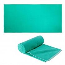 100% Cotton Beach Towel Bath Travel Sports Towels Soft & Absorbent - Green