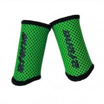 Elastic Finger Protector Sleeve Brace Support For Basketball,Set Of 2, Green