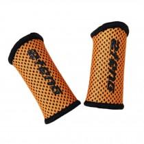 Elastic Finger Protector Sleeve Brace Support For Basketball,Set Of 2, Orange